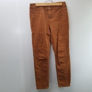 Zara rust color ankle Jean's
